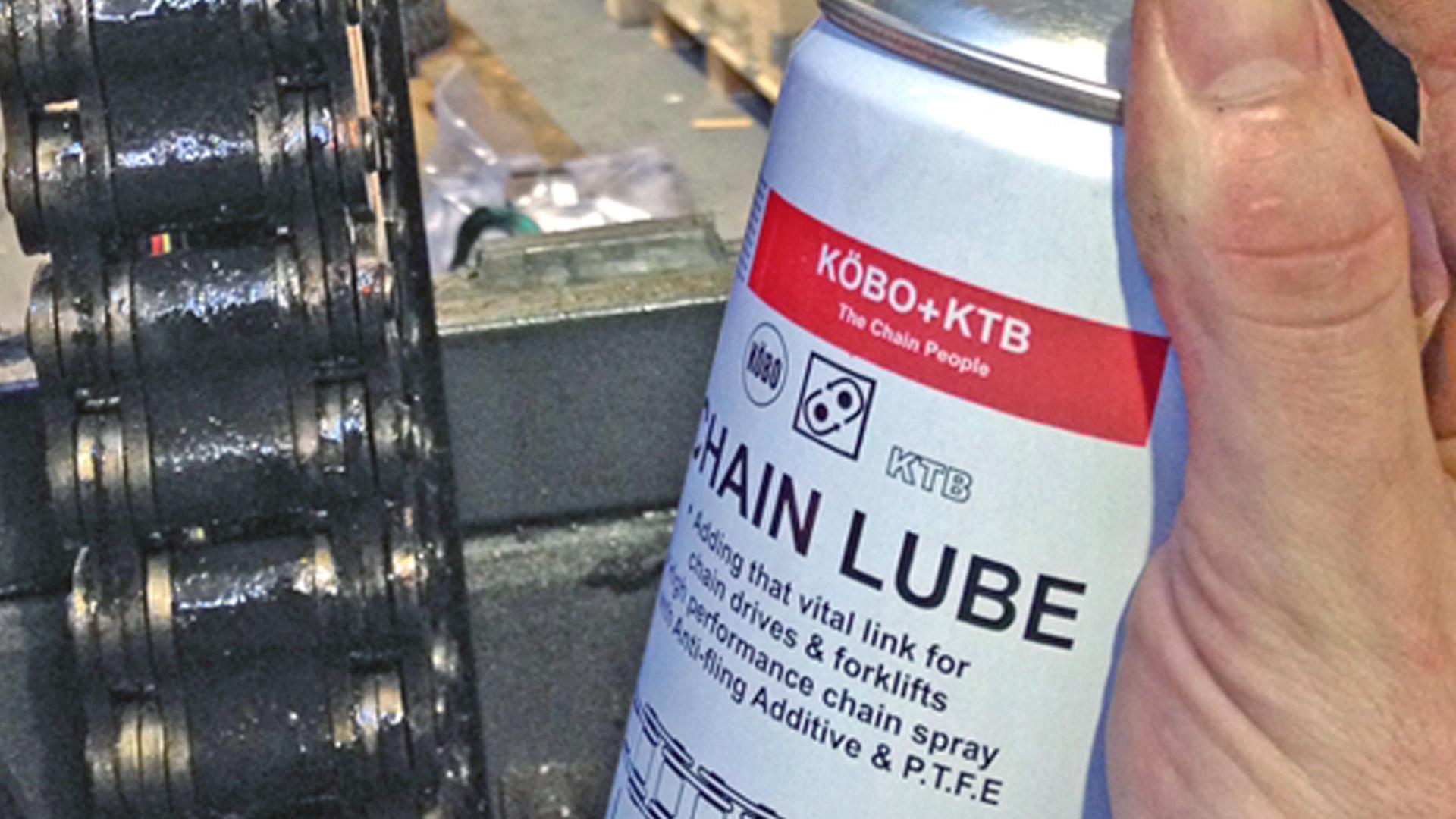 ¿Qué tan seguido se requiere lubricar las cadenas?