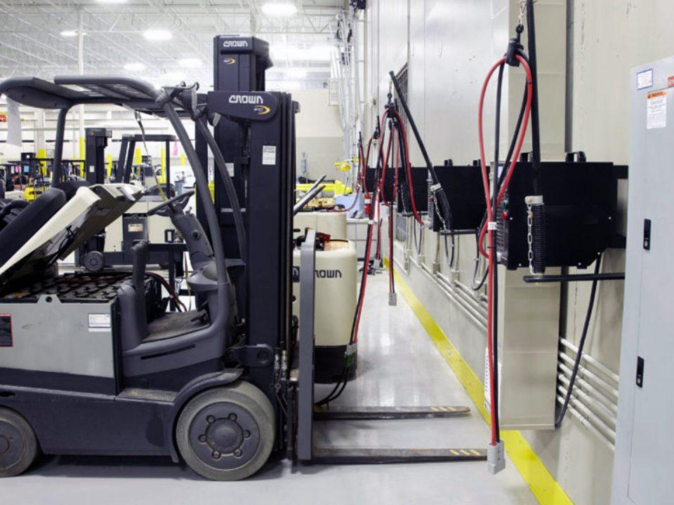 ¿Qué es la carga de oportunidad en baterías para montacargas?