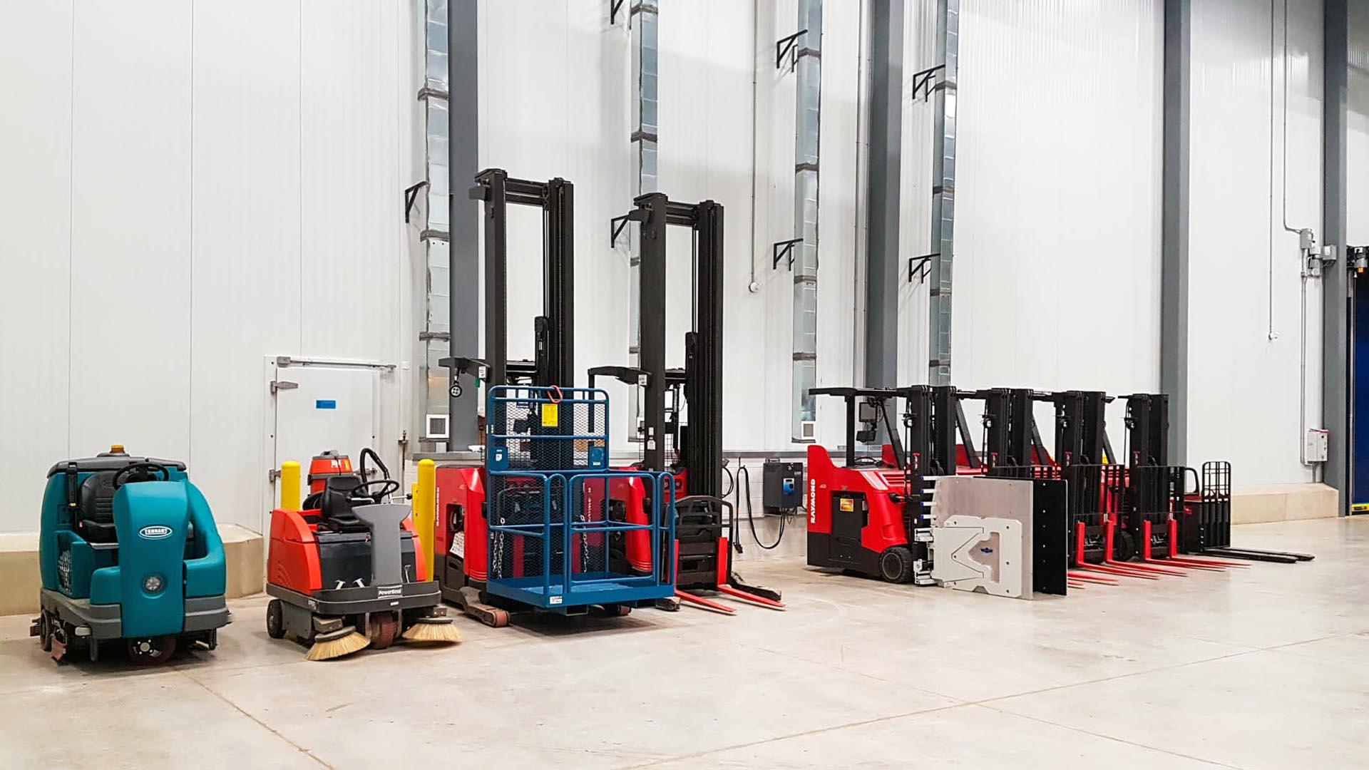 2. Requerimientos para ventilación de estaciones de carga de baterías para montacargas